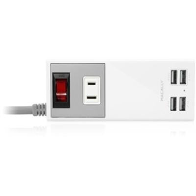 4port USB Chargr And AC Outlet
