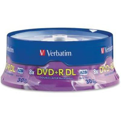 Dvd+r Dl 8.5gb 8x Branded 30 P