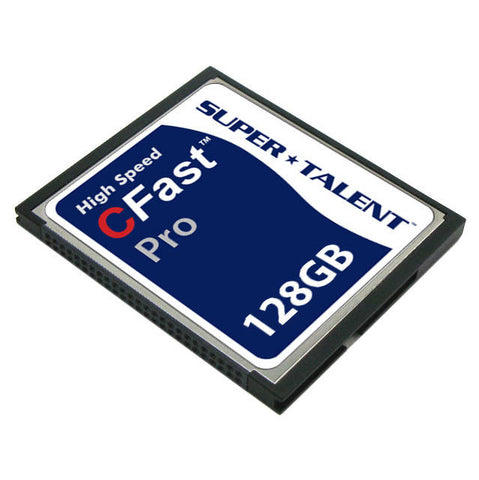 Super Talent CFast Pro 128GB Storage Card (MLC)
