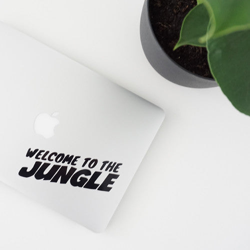WELCOME TO THE JUNGLE Decal Sticker