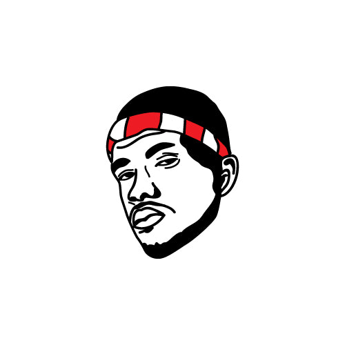 FRANK OCEAN FACE Decal Sticker