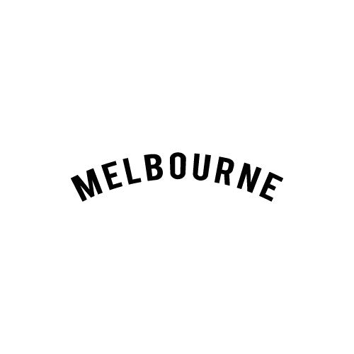 MELBOURNE Decal Sticker