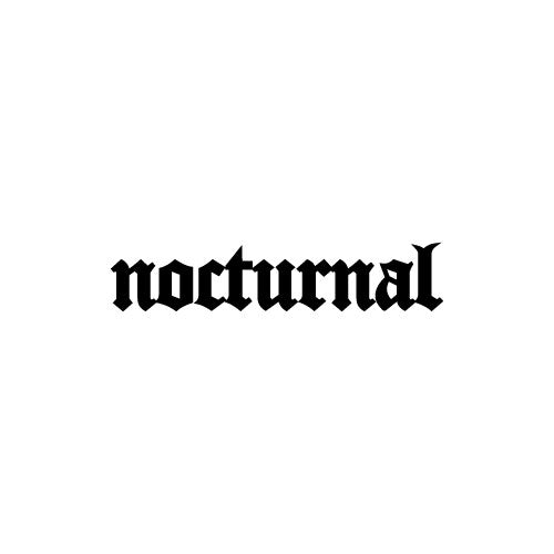 NOCTURNAL Decal Sticker