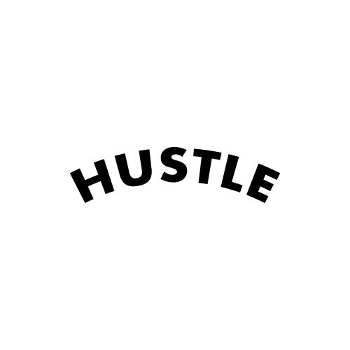 HUSTLE Decal Sticker
