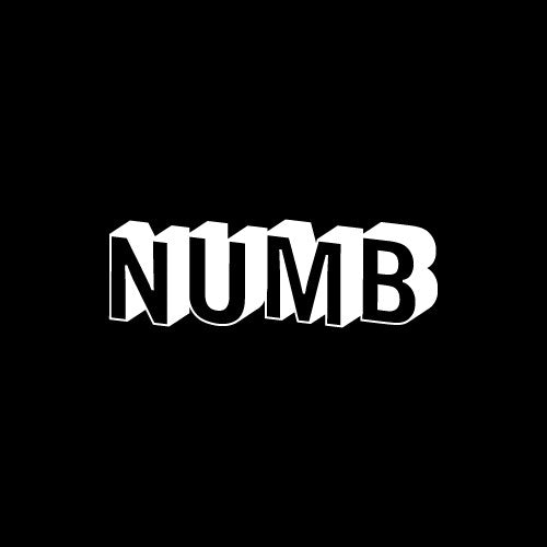 NUMB Decal Sticker