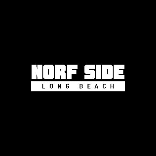 NORF SIDE LONG BEACH Decal Sticker