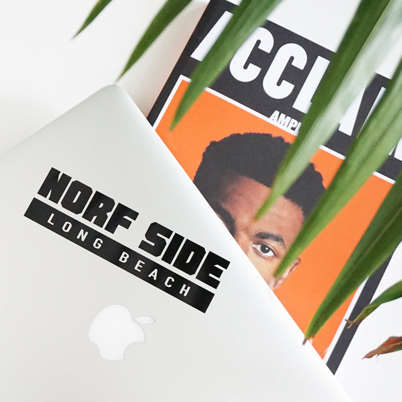 Norf Side Long Beach Vince Staples Hip Hop Stickers