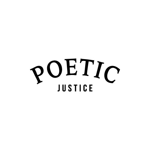 POETIC JUSTICE Decal Sticker