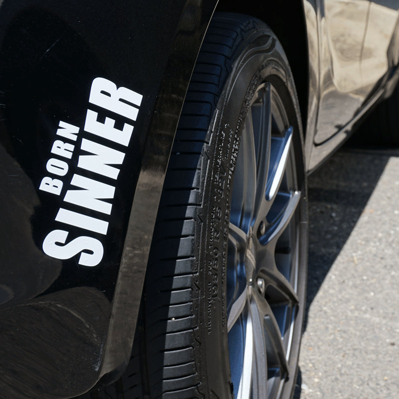 BORN SINNER Decal Sticker