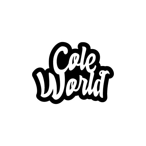 COLE WORLD Decal Sticker
