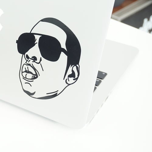 JAY-Z FACE Decal Sticker