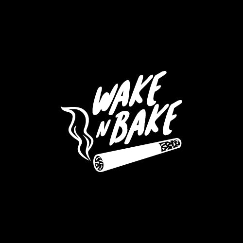 WAKE N BAKE Decal Sticker