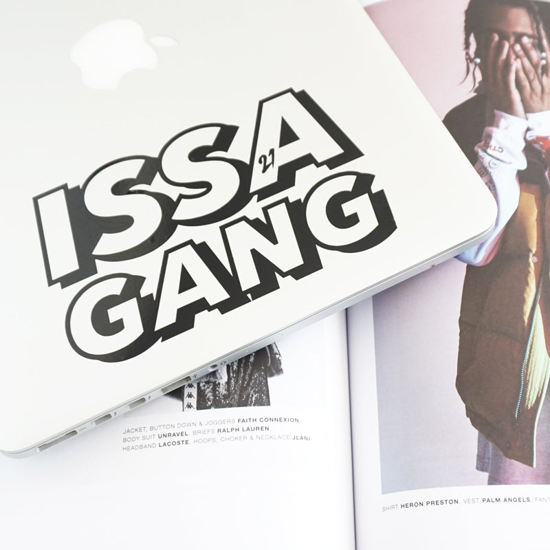 ISSA GANG Decal Sticker