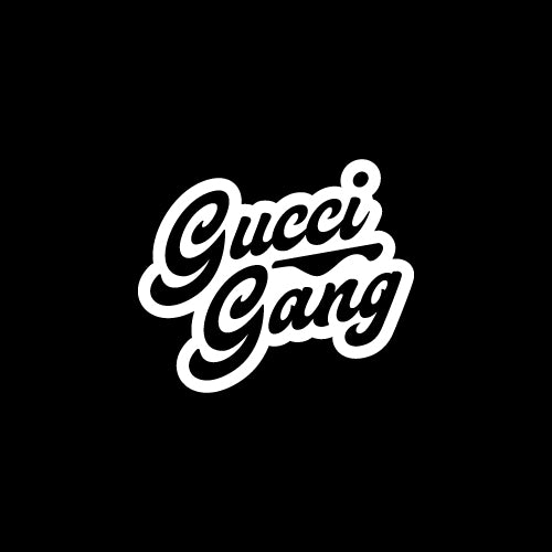 GUCCI GANG Decal Sticker