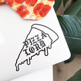 PIZZA LORD Decal Sticker