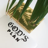 GOD'S PLAN Decal Sticker