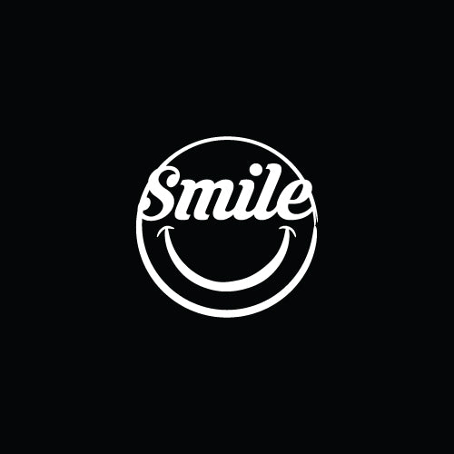 SMILE Decal Sticker