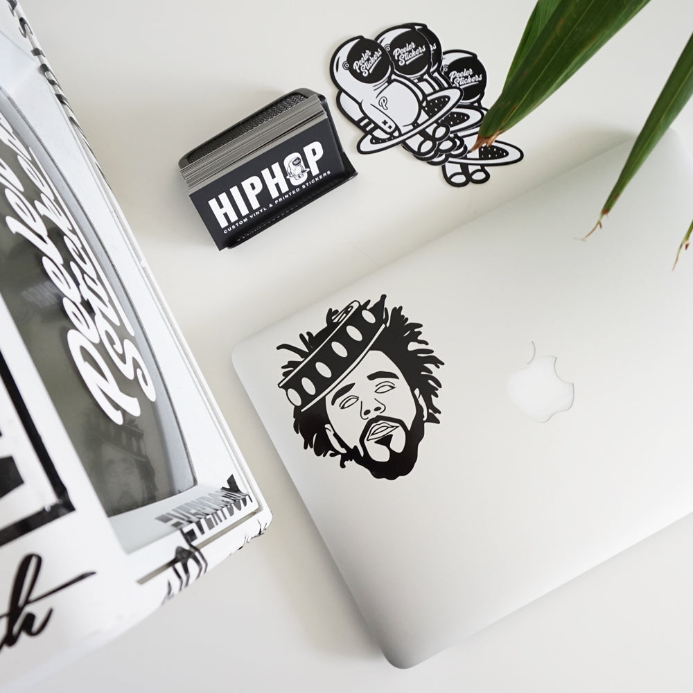 J COLE KOD Decal Sticker