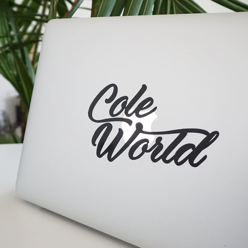 COLE WORLD 2 Decal Sticker