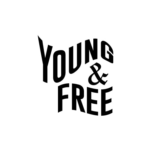 YOUNG & FREE Decal Sticker