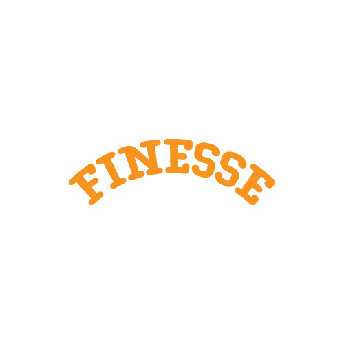 FINESSE Decal Sticker