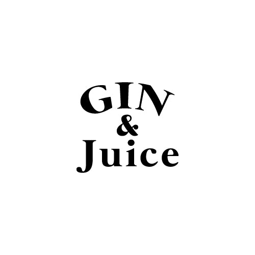 GIN & JUICE Decal Sticker