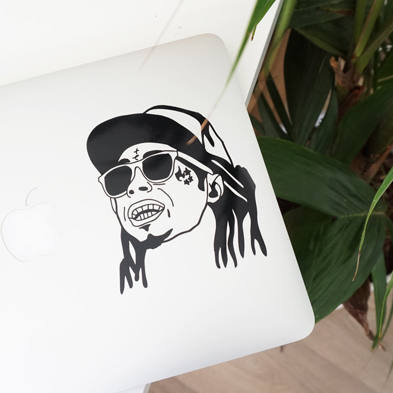 WEEZY FACE Decal Sticker