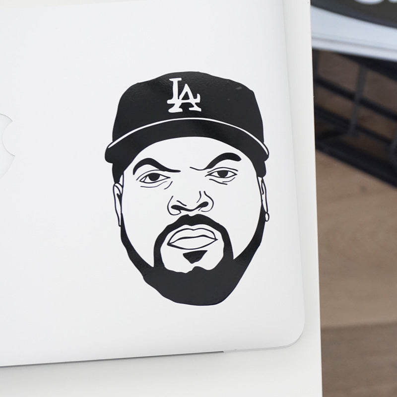 ICE CUBE FACE Decal Sticker