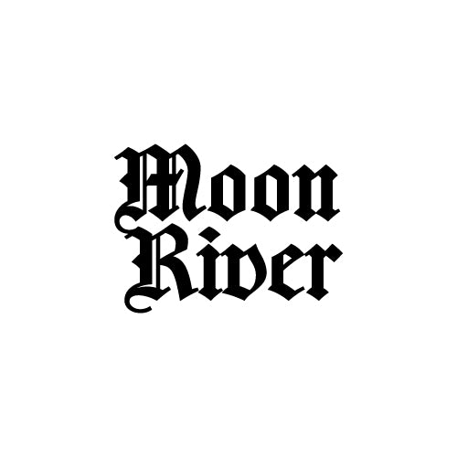MOON RIVER Decal Sticker