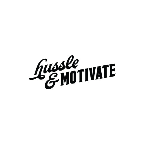 HUSSLE & MOTIVATE Decal Sticker