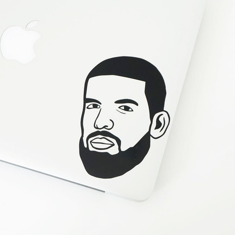 I'M UPSET DRAKE FACE Decal Sticker