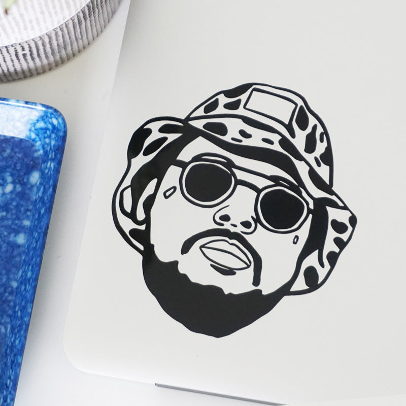 SCHOOLBOY Q FACE Decal Sticker