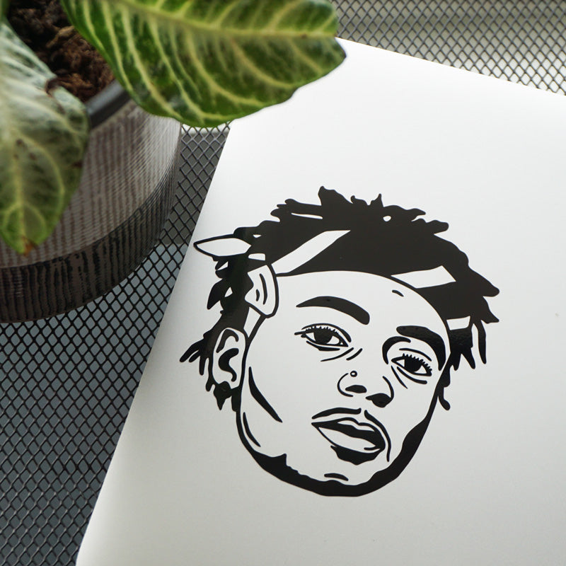 JID FACE Decal Sticker