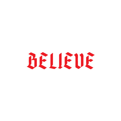 BELIEVE Decal Sticker
