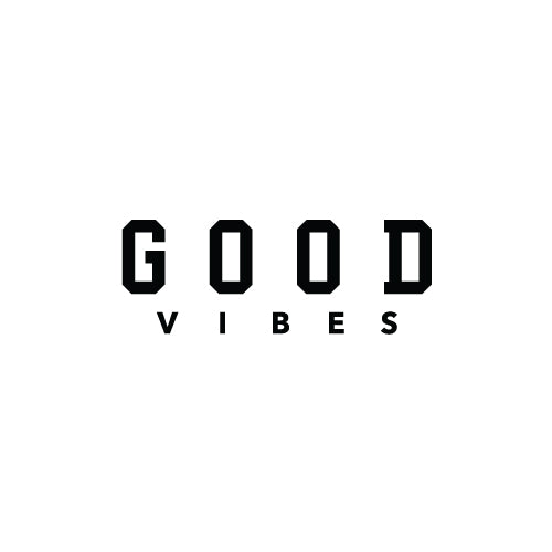 GOOD VIBES Decal Sticker