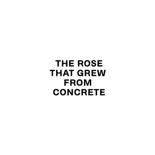 THE ROSE THAT GREW FROM CONCRETE Decal Sticker