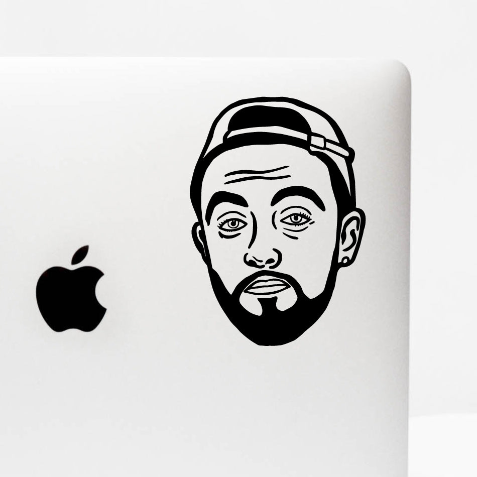 MAC FACE Decal Sticker
