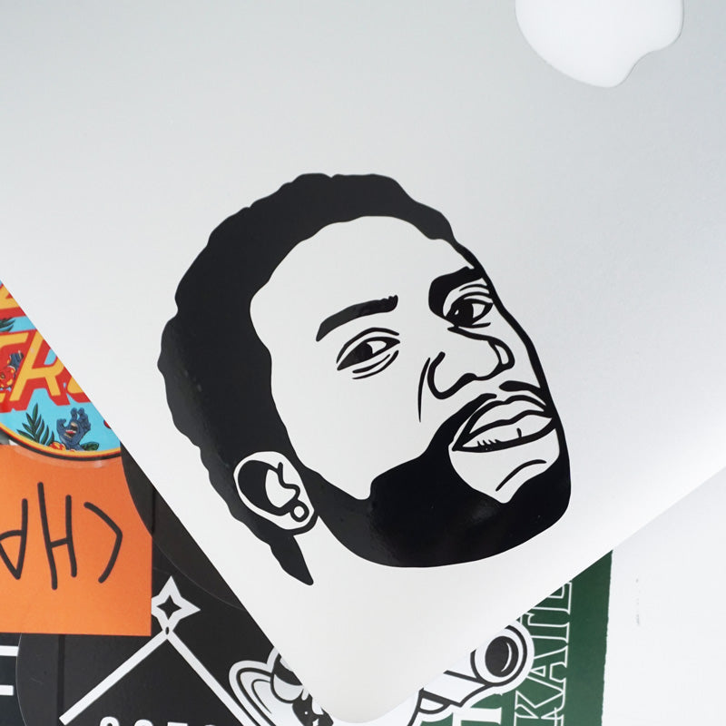 MEEK FACE Decal Sticker