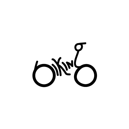 BIKING Decal Sticker