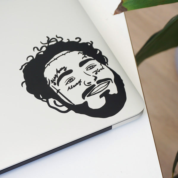 MALONE FACE Decal Sticker