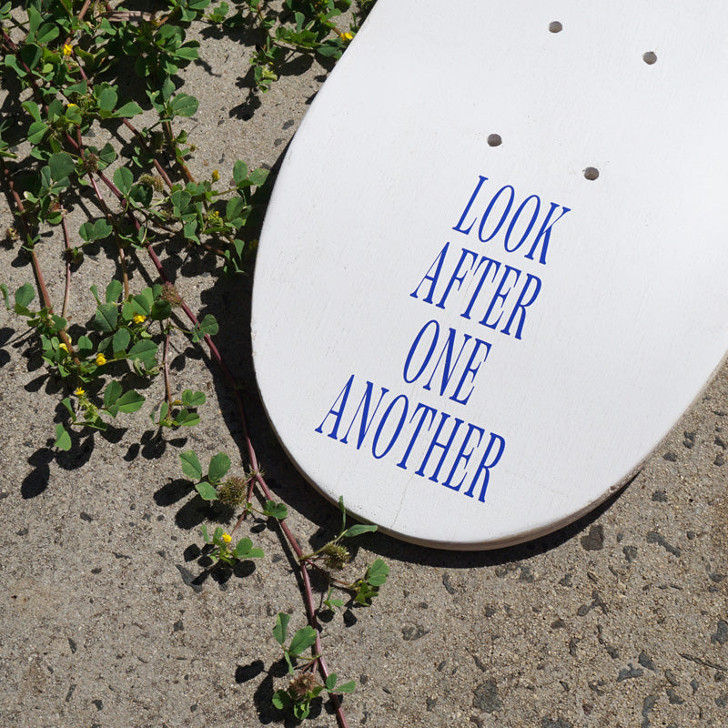 LOOK AFTER ONE ANOTHER Decal Sticker