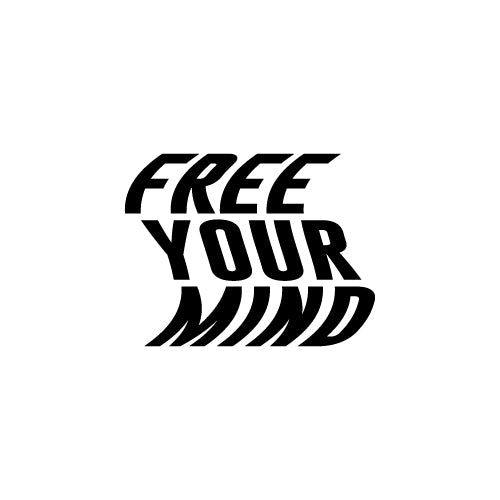 FREE YOUR MIND Decal Sticker