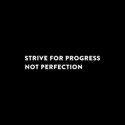 STRIVE FOR PROGRESS Decal Sticker