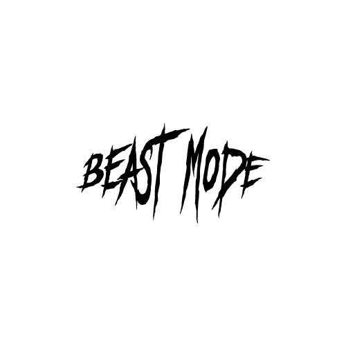 BEAST MODE Decal Sticker