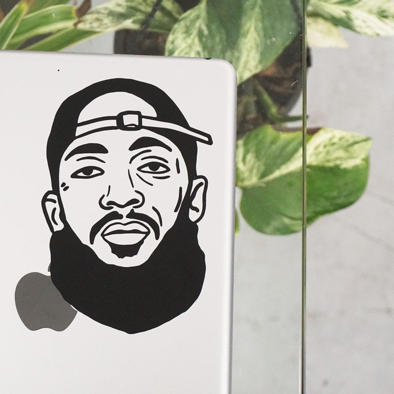 OLD SCHOOL NIPSEY FACE Decal Sticker