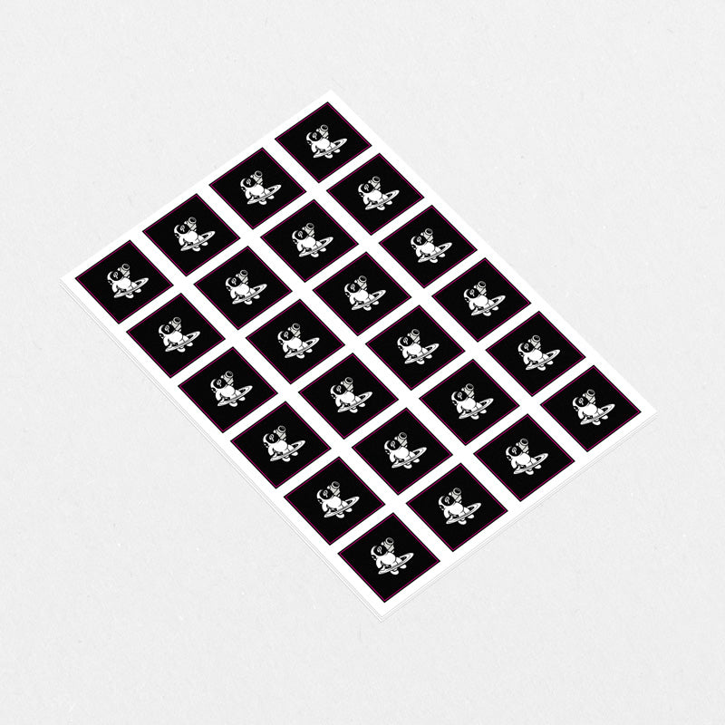 Custom Square Sticker Sheet A4 - Custom Stickers Australia