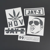 TO THE IZZO Decal Sticker Pack - 5 Vinyl Stickers Included!