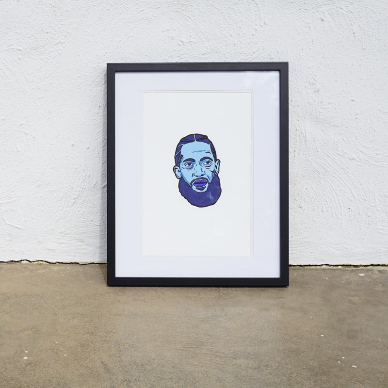 NIPSEY BLUE Printed Artwork