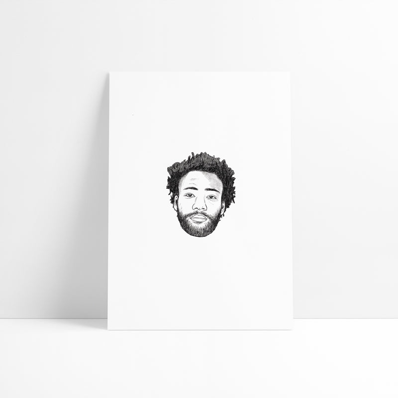 Gambino Printed Artwork