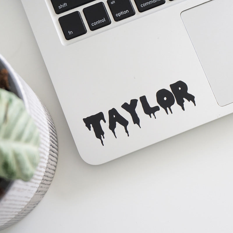 PERSONALISED Name Text Decal Sticker